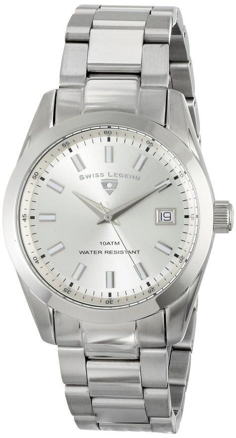 Đồng hồ Swiss Legend Classic Silver Dial