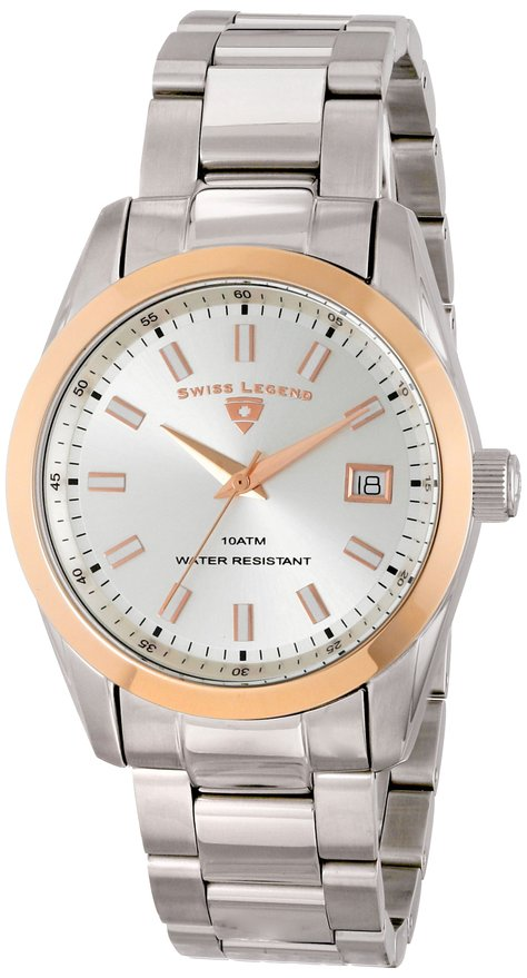 Đồng hồ Swiss Legend Mens Classic Silver Dial