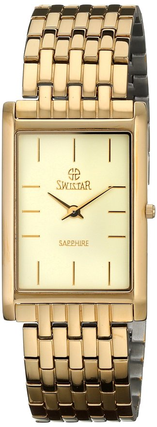 Đồng hồ Swistar Mens Gold-Plated Watch