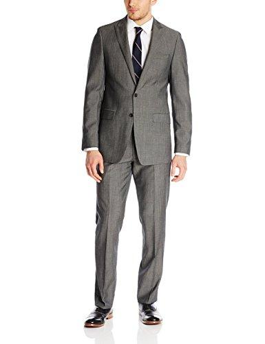 Bộ suit Bruno Piatelli grey stripe, size 36S